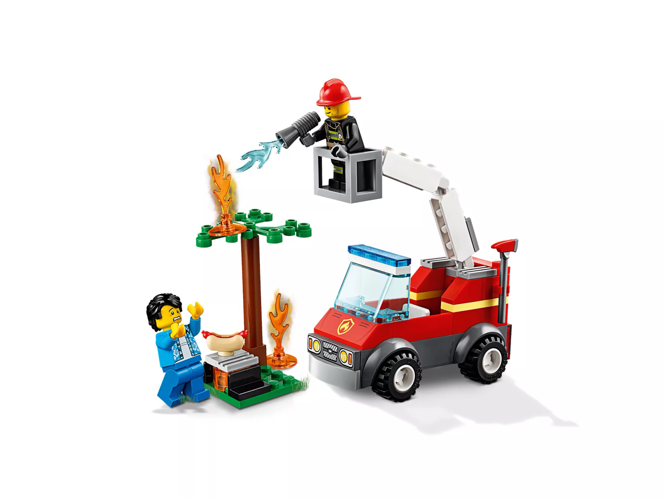 LEGO® Barbecue Burn Out | At The Playground